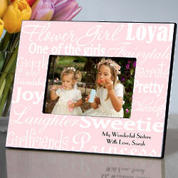Personalized Flower Girl Frame