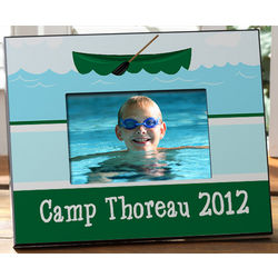 Personalized Summer Camp Picture Frame