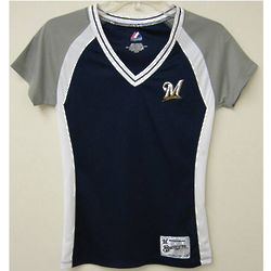 Brewers Ladies Fashion Tee