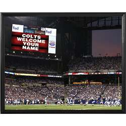 Personalized Indianapolis Colts Scoreboard 11x14 Canvas