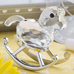 Crystal Rocking Horse Favor