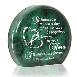 Keep Me in Your Heart Paperweight