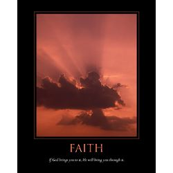 Faith Personalized Print