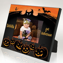 Personalized Spooky Halloween Picture Frame