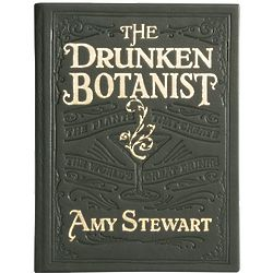 The Drunken Botanist Leather Bound Book