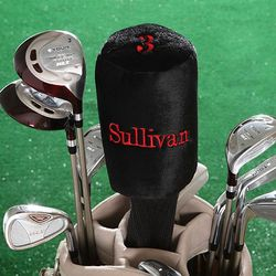 Custom Name Personalized Golf Club Head Cover