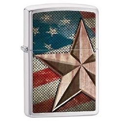 Personalized Retro Star Lighter