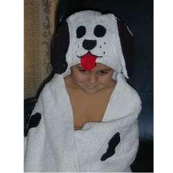 Dalmatian Bath Robe