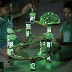 Quadrilla Space City Marble Racing Track Set