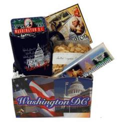 Washington DC Greetings Basket