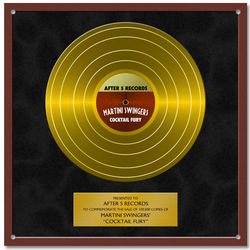 Personalized Gold Record Sign