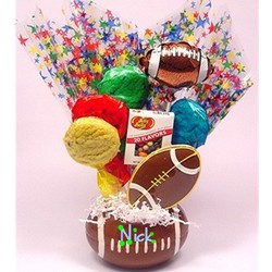 Super Score Football Fan Cookie Basket