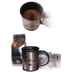 New York Coffee Beans with Electric Coffee Mug