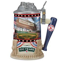 MLB Boston Red Sox Fenway Park 100 Years Stein