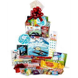 Congratulations Retro Candy Gift Basket