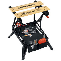 Workmate Clamp System and Workbench