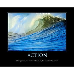 Action Personalized Print