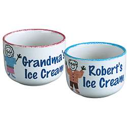 Personalized Ice Cream Bowl for a Grandparent