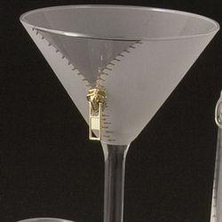 Zipper Martini Glasses