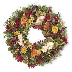 "Fall Orchard 16"" Wreath"