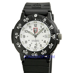 Luminox 3000 Original Navy Seal Dive Series White Mens Watch