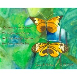 Butterfly Love Fine Art Print