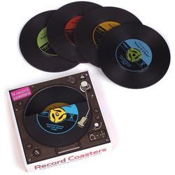 45 RPM Record Coasters