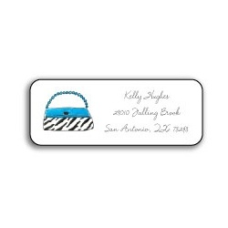 Wild for Purses Personalized Address Labels
