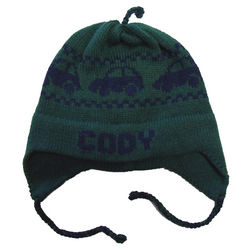 Personalized Cars Ear Flap Hat