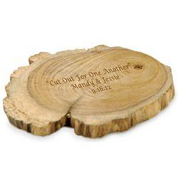 Personalized Teak Wood Coaster