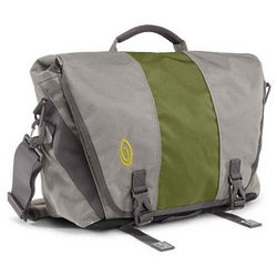 Timbuk2 Commute 2.0 Messenger Bag in Cement and Algae Green