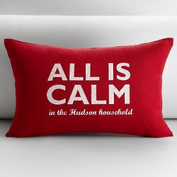 All is Calm Pillow Cover