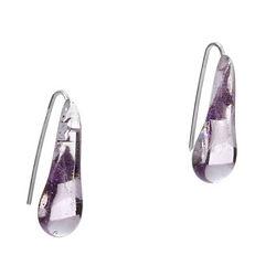 Raindrop Stem Earrings