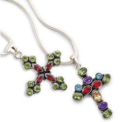 Santa Maria Cross Necklace