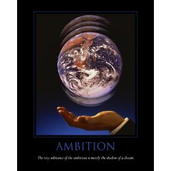 Ambition Personalized Print