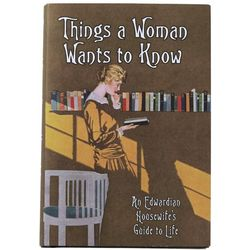 An Edwardian Housewife's Guide To Life Book