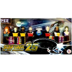 Star Trek Next Generation Pez Dispensers