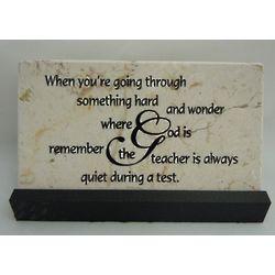 Going Through Something Hard Prayer Stone