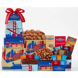 Ghirardelli Milk and Dark Chocolate Gift Tower