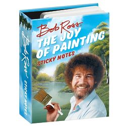The Joy of Painting Bob Ross Sticky Notes