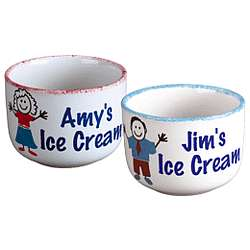 Personalized Ice Cream Bowl for Parent