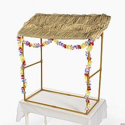 Tabletop Tiki Hut