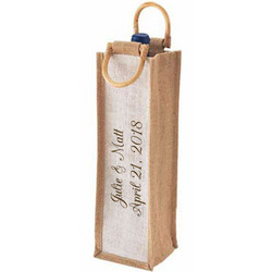 Eco Friendly Wine Tote Bag