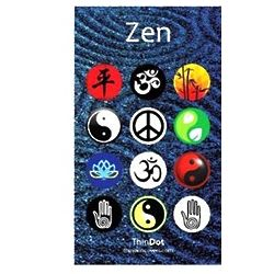 Zen Home Button Stickers for iPhone iPod and iPad