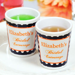 Bridal Entourage Party Shot Glasses