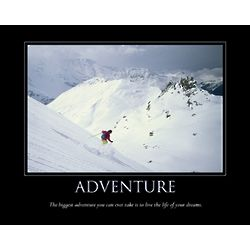 Adventure Personalized Print