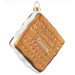Personalized S'more Christmas Ornament