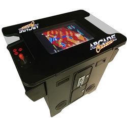 Arcade Classics Black Cocktail Table Arcade Machine