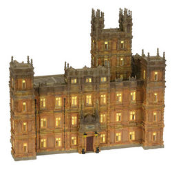 Downton Abbey Lighted Castle