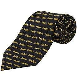 Pittsburgh Steelers Pattern Tie